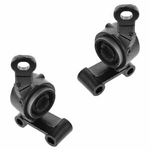 Front Lower Control Arm Rear Support Bracket Pair Set for 02-07 Mini Cooper