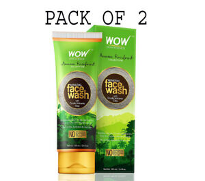 WOW Rainforest Collection - Mineral Face Wash with Crude 100ml( PACK OF 2)