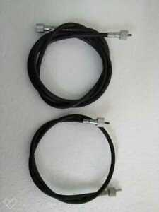 """TRIUMPH  SPEEDOMETER and TACHO CABLE  66"""" and 30""""  set"""