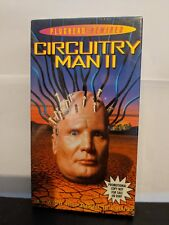Circuitry Man 2 VHS SEALED Screener Copy