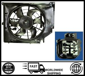 Radiator Fan Assembly FOR BMW 3 Series E46 316i 318i 320i 323i 328i [1998-2014]