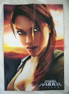 74105 Lara Croft Tomb Raider Legend Magazine Poster Magazine