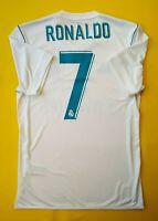 Ronaldo Real Madrid jersey S 2018 home shirt AZ8059 soccer Adidas ig93