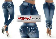 Butt Lift colombiano Diseño, Skinny Jeans Tamaño 12 Edición Limitada