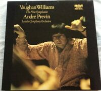 SER 5649-55 UK- ANDRE PREVIN, LSO- Vaughan Williams 9 Nine Symphonies 7-LP BOX