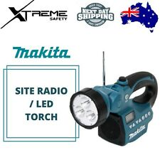 Makita BMR050 14.4/ 18V li-ion Soft Grip Body Only Site Radio/ LED Torch