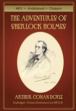The Adventures of Sherlock Holmes - Unabridged MP3 CD Audiobook in DVD case