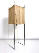 Vintage Mid Century Modern Minimalist Box Kite Table Desk Lamp George Nelson Era