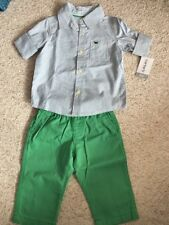 NEW Carters American Baby 3-6mths Shirt Trousers Outfit BNWT NEW BABY GIFT Cloth
