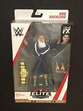 BOB BACKLUND WWE Mattel Elite 63 Wrestling Action Figure Loose Chase New
