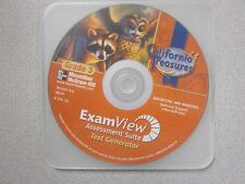 %California Treasures Grade 3 ExamView Test Generator CD-ROM McGraw 0022033238