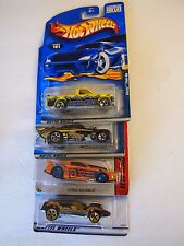 Hot Wheels LOT OF 4 CARS CHEVY PICK UP 41 WILLYS MUSTANG GT & SPEED MACHINE 1088