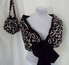 Flintstone cavewomen shawl stone age voodoo Wilma animal themed fancy dress med