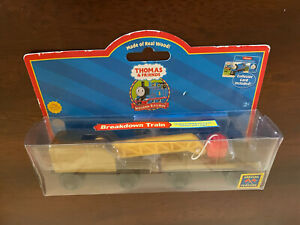2004 Learning Curve Wooden Thomas the Train Breakdown Train! NEW