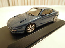 Minichamps Ferrari 456 GT Metallic Blue 1/43 Scale, New in Box, Ships From USA