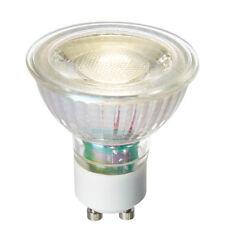Saxby GU10 DEL SMD Un-Zoned Light Bulb Unglazed Ceramic Dimmable 5W Cool White
