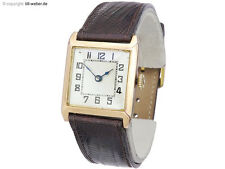 "Armbanduhr ""Rotgold"" um 1930"