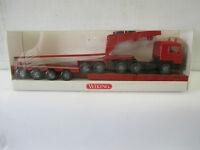 Wiking 1/87 505 0 35  MAN Zugmaschine mit Tieflader  WS5322