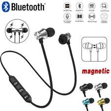 Sports Wireless Bluetooth Magnetic Earphone Headset In-Ear Stereo Bass Headphone