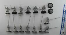 14 URUK HAI Plastic Lord of the Rings LOTR Evil Army Warriors Warhammer 1