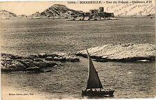 CPA Marseille-Iles du Frioul-Cháteau d'If (185869)