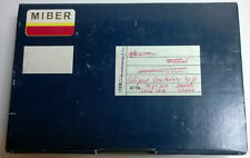 1 x MIBER Händlerkarton f.10/12 Stck. Leer ORIGINAL KEIN Repro! Detomaso Pantera