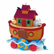 Hallmark Keepsake  Ornament 2016 SANTA CERTIFIED  #4 Noah's Ark Series