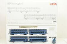 H0--MÄRKLIN - 41762 (AC) ..Doppelstock-Autotransportwagen-Set  ..OVP  ..G3 /64