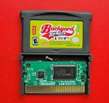 Backyard Baseball 2007 Nintendo Game Boy Advance *Saves*