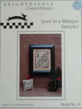 Brightneedle - LOVE IN A MANGER SAMPLER - Cross Stitch Pattern - Christmas