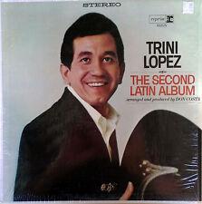 TRINI LOPEZ - SECOND LATIN ALBUM - REPRISE LP - STEREO - STILL IN SHRINK WRAP