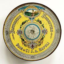 Italian Pastry Tin Odin & C! S. A. Napoli Pasticceria Fiorentina 1930s Vintage
