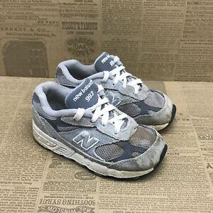 New Balance Kids 993 KJ993GRI Gray Toddler Running Shoes Lace Up Low Top Sz 8 M
