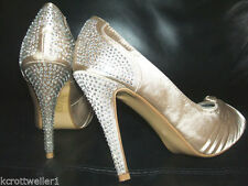 Atmosphere Patternless Peep Toe Heels for Women