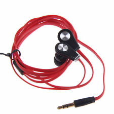 3.5mm Flat In-Ear Earbud Earphone Headphone For iPhone iPod Samsung Phone MP3