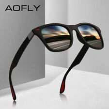 AOFLY NEW DESIGN Ultralight TR90 Polarized Sunglasses Men Women Driving Square