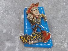 DISNEY PIXAR DLRP TOY STORY PIN WOODY'S ROUND UP WOODY RUNNING