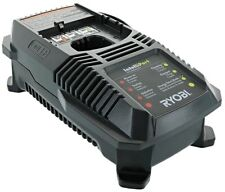 RYOBI 18 v DUAL CHEMISTRY BATTERY CHARGER NICD LI-ION Battery charger P118 ONE+