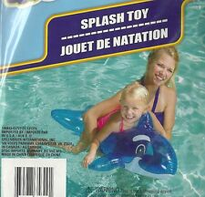 Blue Dolphin. 36 inch (91cm) inflatable pool toy. Splash-n-Swim. New in Package.