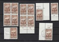 luxembourg 1936 philatelic congress stamps+cancels   ref 11872