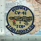Patch , US Navy Vietnam Aircraft Carrier CV 41 USS Midway Top Tailhooker i ,