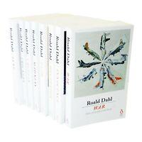 Roald Dahl 8 Books Adult Collection Paperback Gift Pack Set