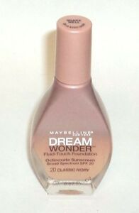 Maybelline Dream Wonder Fluid -Touch Foundation CLASSIC IVORY 20