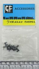 Grafar N gauge insulating rail joiners - pack of 12