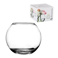 Pasabahce Vase Clear Glass Globe Cm12 5 Furniture and Home Decorations