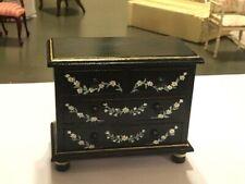 Vintage Miniature Dollhouse Furniture chest of drawers dresser Artist Signed