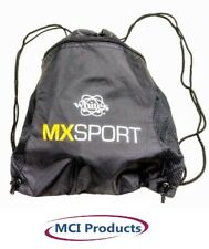 Whites Mx Sport Backpack with Zipper Pouch Adjustable Drawstring Strap