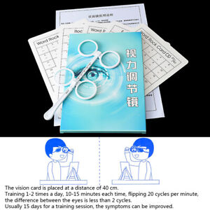 ±0.50D to ±4.00D Flip Lens Confirmation Test Optical Flipper Optometry PlasticDS