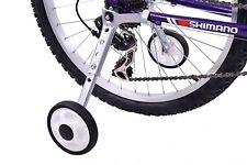 "Adjustable Bicycle Stabilisers/Training Aid 18"" - 24"" Wheel Kids Bike With Gears"