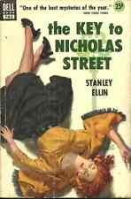 THE KEY TO NICHOLAS STREET Stanley Ellin - NOVEL - RASHOMAN STYLE MURDER MYSTERY